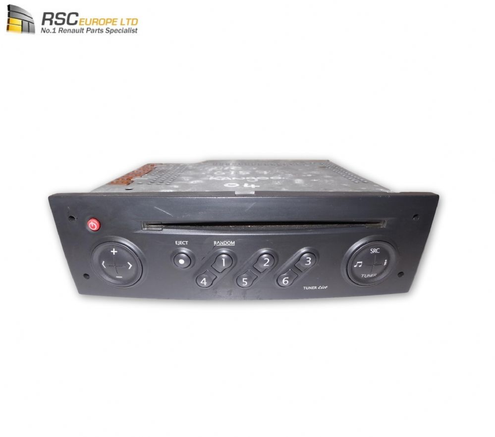 RENAULT KANGOO I CD PLAYER / RADIO (TUNER LIST) 8200256141 8200497243
